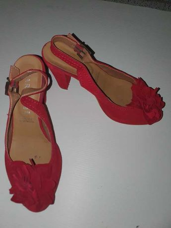 Sapatos_senhora Vermelho