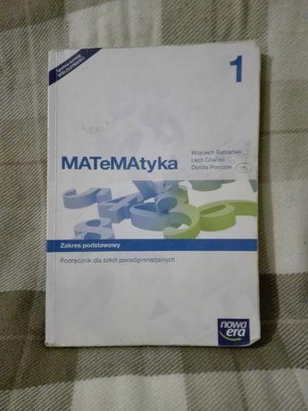 Matematyka 1 - zakres podstawowy - podręcznik ponadgimna. Nowa era