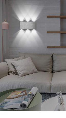 Kinkiet lampa ścienna led nowoczesne oświetlenie