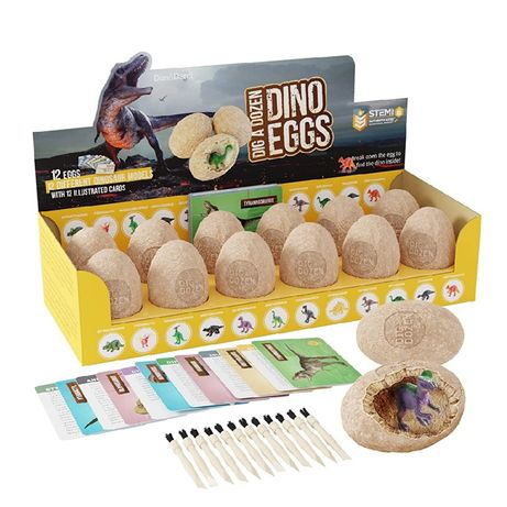 Dino eggs, Динозавры для детей, раскопки