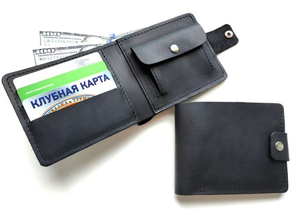 Кожаный кошелек портмоне 0588 Ручная работа
