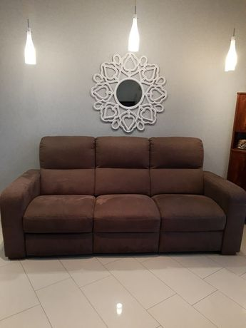 Kanapa sofa czekolada 3 osobowa