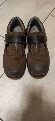 Buty robocze z blachą