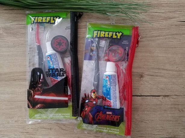 Подарочный набор щетка Star wars паста Crest в сумочке оригинал СШA