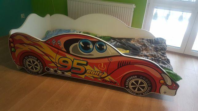 Łóżko dziecięce samochodzik 2-8