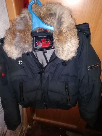Зимняя куртка на мальчика пуховая