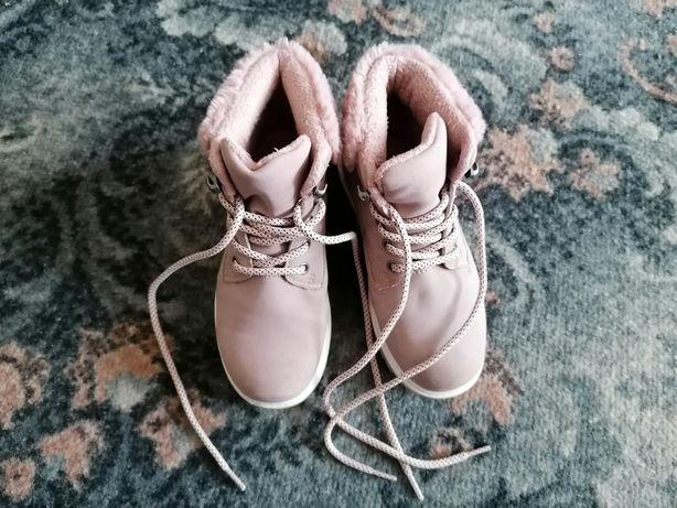 Trapery, buty dziewczęce