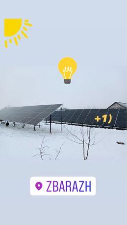 Монтаж сонячних електростанцій СЕС