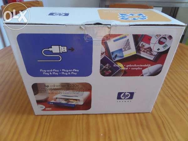 Leitor e gravador de cds externo HP CD-Writer 8230e