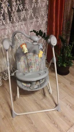 Крісло гойдалка шезлонг