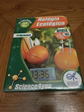 Science4you - Relogio Ecológico