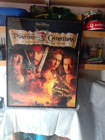 Quadro piratas das caraibas