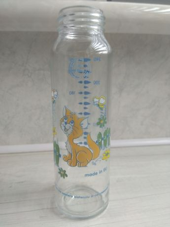 Бутылочка стеклянная, 240 мл.