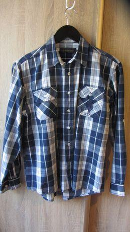 Рубашка на мальчика Polo р.158-164 х/б 100% Сорочка в школу бавовна