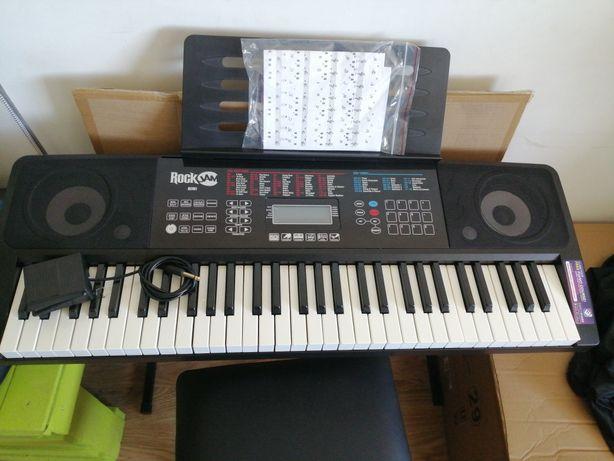 Piano elétrico, teclado