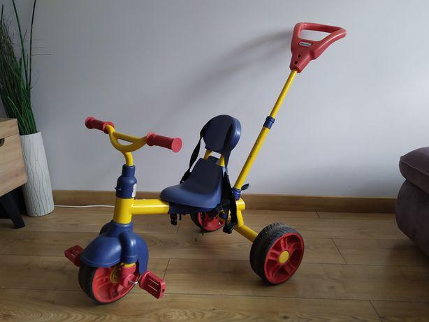 Rowerek dziecięcy trójkołowy Little Tikes z prowadzeniem