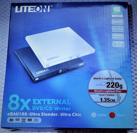 Sprzedam napęd optyczny DVD/CD LiteOn eBAU108-134 (eBAU108) BIAŁY