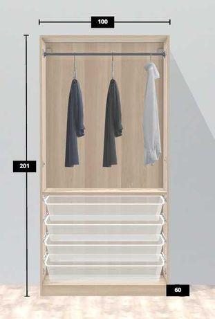 Roupeiro PAX IKEA - 100 x 60 x 201