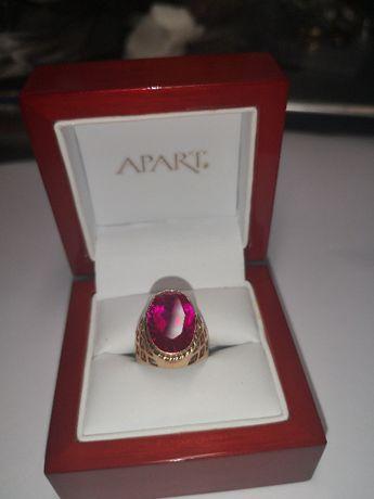 złoty pierścionek,cudny