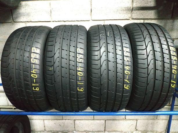 Літні шини 255/40 R19 (100Y) PIRELLI