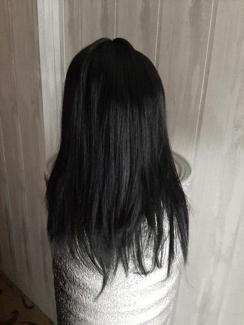 Парик черный длинный 65 см