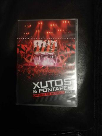 DVD Xutos & Pontapés ao Vivo no Estádio do Restelo. NOVO!!