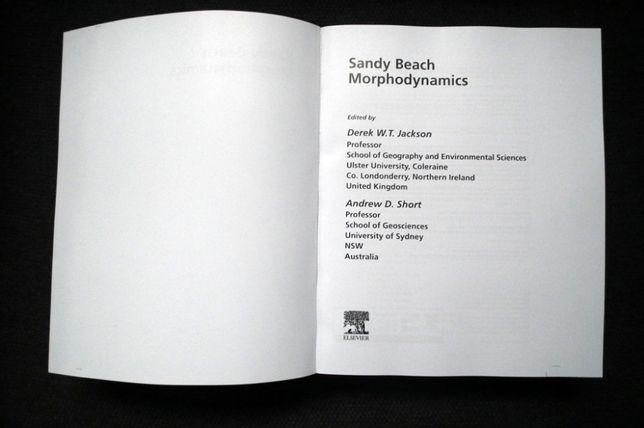 """""""Sandy Beach Morphodynamics"""", D.W.T. Jackson, A.D. Short (eds.), 2020"""