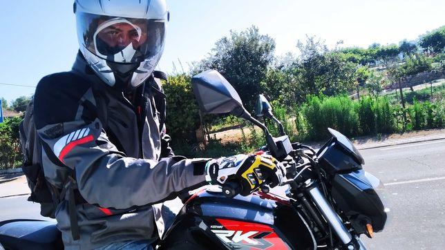 Keeway RKS Sport Evo 125, 6/2020 + capacete + casaco + luvas + cadeado