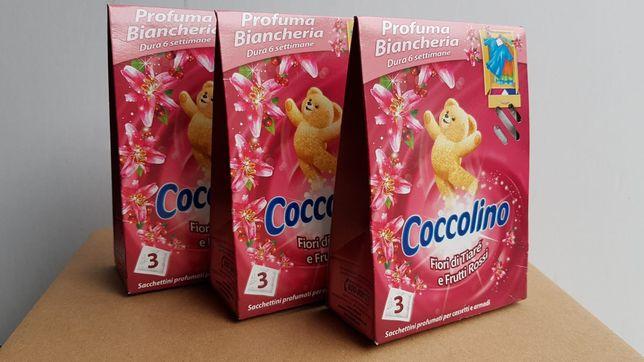 Saszetki zapachowe coccolino 1 pudełko i 3 szt w opakowaniu