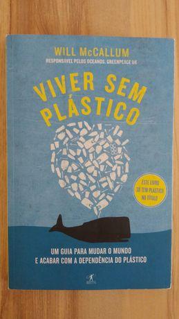 Livro Viver sem Plástico, de Will McCallum - Objectiva (novo)