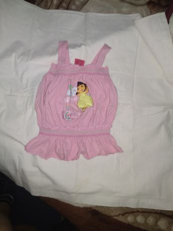 Майка-футболка розовая