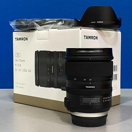 Tamron SP 24-70mm f/2.8 Di VC USD G2 (Canon) - 5 ANOS DE GARANTIA