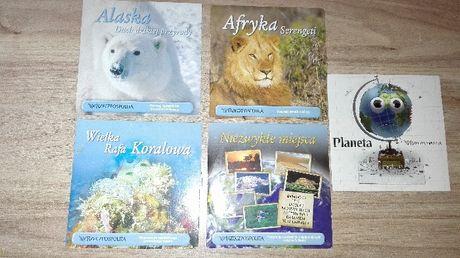 Filmy DVD przyrodnicze Wielka rafa koralowa Alaska Afryka Niezwykłe ..
