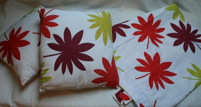 Komplet Stylowa zasłona + 2 poduszki