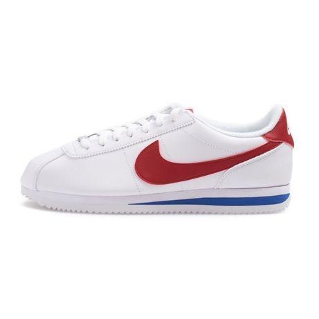 Nike Cortez. Rozmiar 44. kolor Biały z czerwonym. NAJTANIEJ!