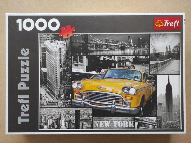 Puzzle 1000, Trefl, Nowy Jork kolaż