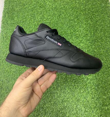 Оригинал осенние кожаные мужские кроссовки Reebok classic 40-47 разм