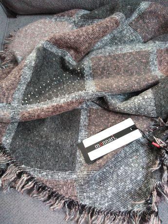 Nowy szal chusta Monnari różowy cekiny