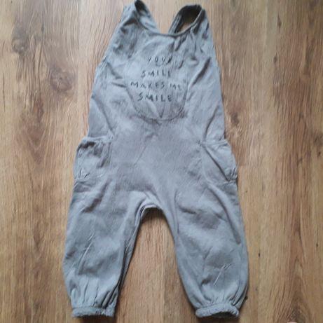 Spodnie/Spodenki/Ogrodniczki 92 Zara 18-24 miesięcy muslin