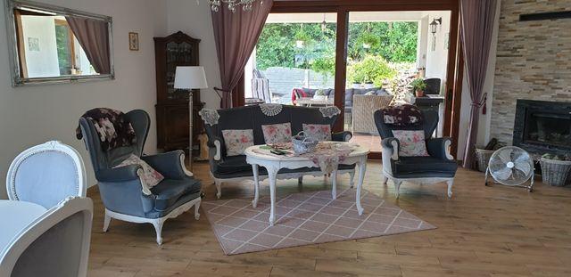 Sofa+dwa fotele Ludwik,