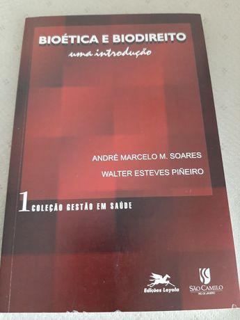 """Livro """" Bioética e Biodireito: Uma Introdução"""""""