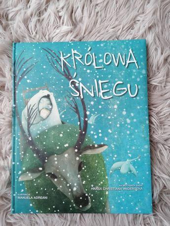 Królowa śniegu Duży format książki Ilustracje Manuela Adreani