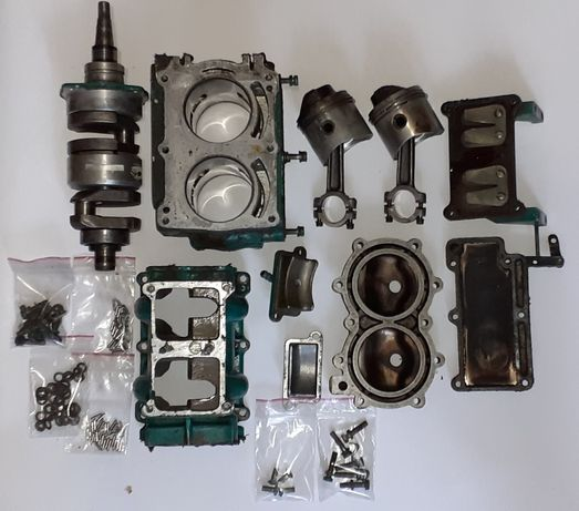 Лодочный мотор, ветерок 8 (запчасти) Двигатель,Маховик,бензонасос