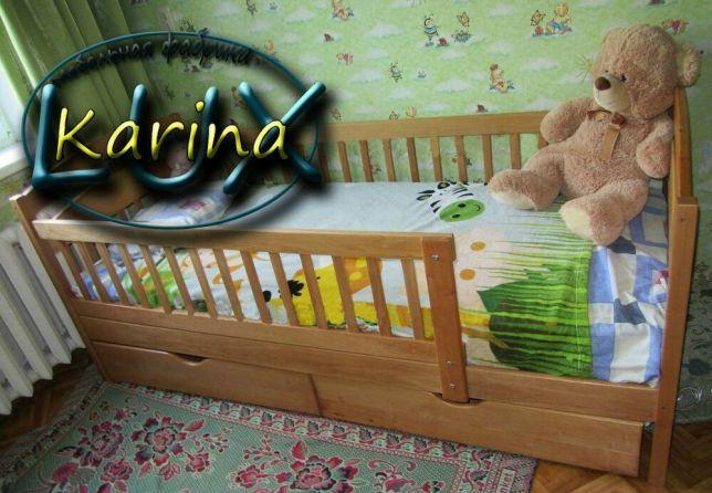 Детская-подростковая деревянная кровать Каринa в наличии мебель купить