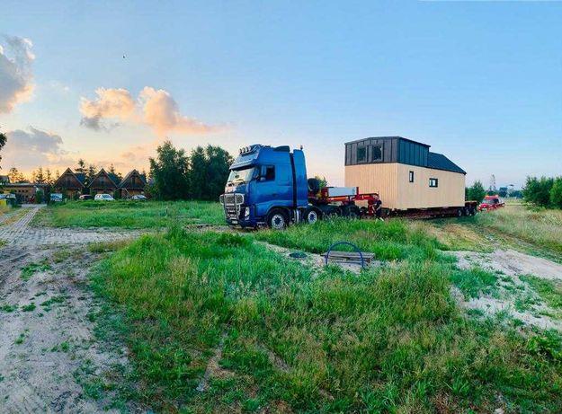 Transport niskopodwoziowy, domków, koparek, maszyn leśnych i rolniczyc