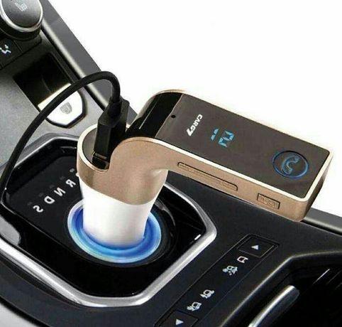 FM модулятор G7 с Bluetooth Фм Трансмиттер зарядка в авто