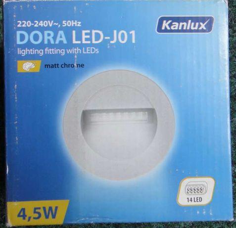 LED встрaиваемый светильник DORA LED-J01