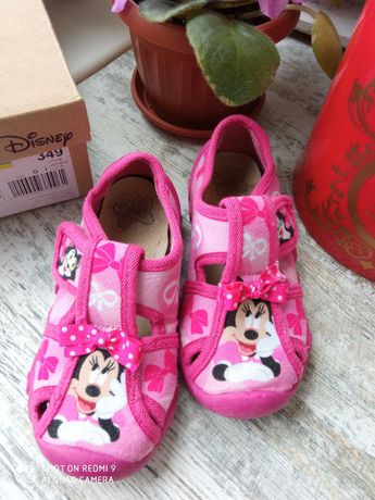 Тапочки Disney, стелька 16 см