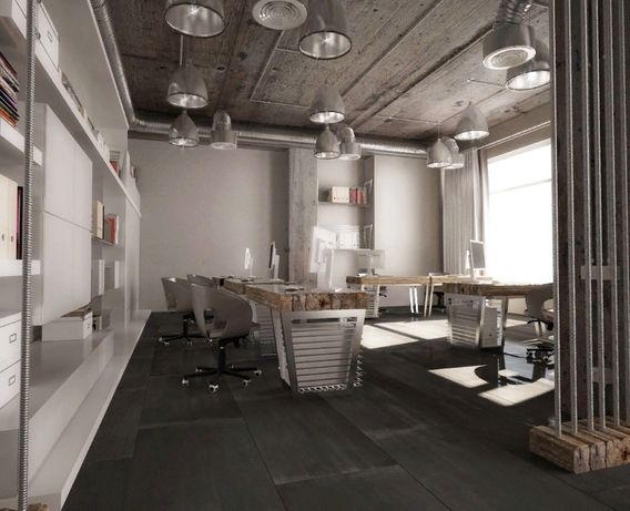 Великолепный офис в стиле LOFT на Подоле