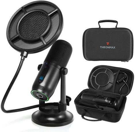 Thronmax Microfone Mdrill One PRO KIT + Shock mount